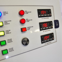 Microbiological Close Temperature Control Panel